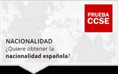 PRUEBA para la concesión de Nacionalidad Española