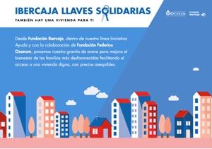 IBERCAJA llaves solidarias