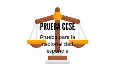 PRUEBA CCSE (EXAMEN PARA ADQUIRIR LA NACIONALIDAD)