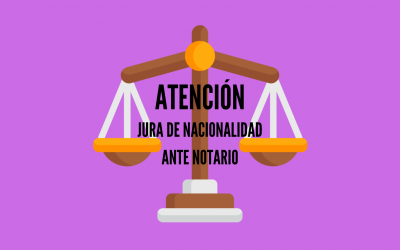JURA DE NACIONALIDAD ANTE NOTARIO